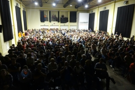 Presentació del Sindicat al Casinet d'Hostafrancs