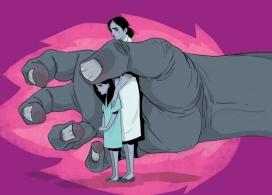 Imatge que acompanya l'últim comunicat de Dones Juristes