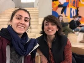 La Núria Barnils i la Daniela esdevenen una de les parelles que participen de la mentoria social de Fundesplai.