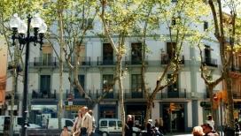 Imatge d'un edifici de pisos de Barcelona