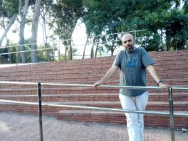 Miguel Aragón, director del CAB, al centre de serveis a les associacions Torre Jussana