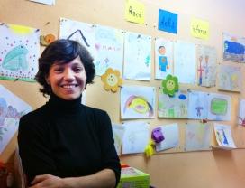 Beatriz Fernández, directora de la Fundació Escó, a la seu de l'entitat.