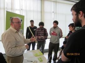 Estand de Som Energia a un dels tallers (Font: FAS)