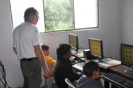 Voluntari en un projecte a Guatemala