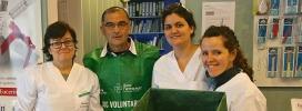 Per aconseguir l'èxit de la recollida es necessita la col·laboració de més de 800 farmàcies i de 1.600 persones voluntàries (Font: Banc Farmacèutic)