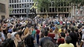 Manifestació contra la pujada de l'IVA a Madrid
