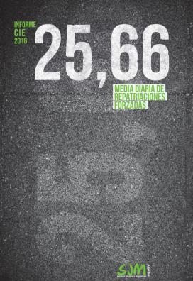 La portada de l'estudi fa referència al nombre d'expatriacions diàries des dels CIE de l'Estat espanyol