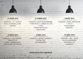 Calendari de concerts.