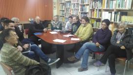 Representats de diverses entitats de la plataforma es van reunir el dia 28 de desembre (imatge: feec.cat)