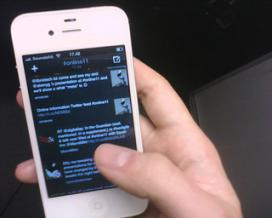 Els mòbils proporcionen un accés ràpid a les xarxes socials