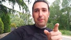 Roger Baldomà motiva els i les runners a participar a la 3a edició del Mou-te per l'Esquitx – Kilòmetre solidari de Sabadell.