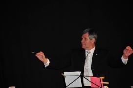 Joan Gómez, mestre músic i president d'Adifolk.