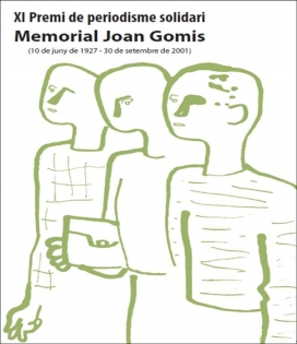 Cartell del Memorial Joan Gomis. Font: Fundipau