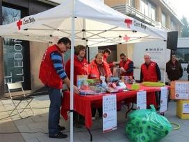 Recollida de joguines de la Creu Roja