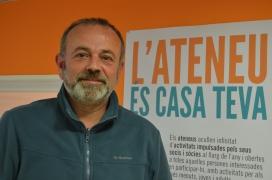 Jordi Casassas és el gerent de la Federació d'Ateneus de Catalunya (FAC).