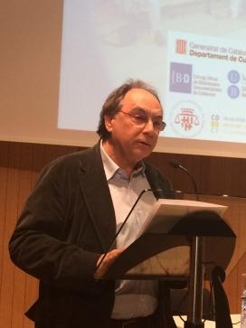 Jordi Coca, dramaturg i escriptor de l'obra. Font: Wikipedia
