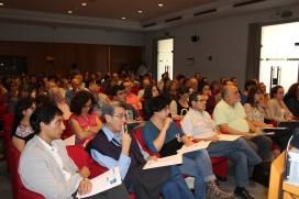 Un centenar de representants del tercer sector i l'administració es van reunir al Pati Manning. Font: Suport Associatiu