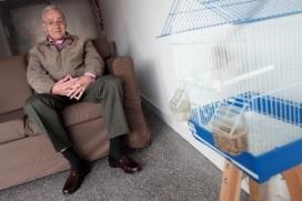 El Josep, al seu pis
