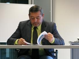 Josep Franch, portaveu d'ActivaMent de la Catalunya Central, pateix esquizofrènia. Font: ActivaMent