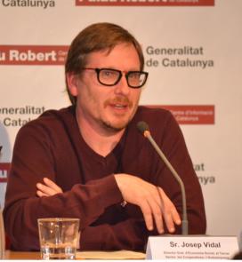 Josep Vidal, director general d'Economia Social, Tercer Sector, Cooperatives i Autoempresa de la Generalitat de Catalunya. Font: Gencat