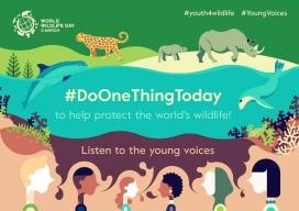 La jornada busca celebrar la fauna i la flora silvestre i inspirar les comunitat a actuar per a la seva conservació (imatge: wildlifeday.org)