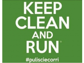 Una eco-trail on els i les runners corren i  s'ajupen a recollir els residus (imatge: KeepCleanandRun)
