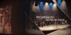 """Fotograma vídeo promocional campanya """"Tu ets la màgia del Kursaal""""."""