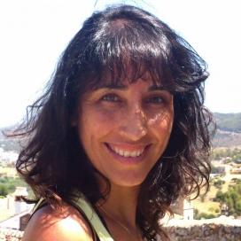 Marimar De Heras, membre de l'AMPA de l'Escola Josep Monmany i una de les impulsores de la Milla. Font: AMPA Escola Monmany