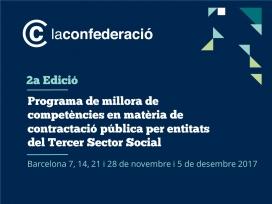 El programa tindrà lloc del 7 de novembre al 5 de desembre a Barcelona.
