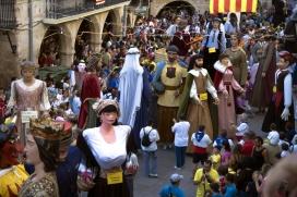 Gegants a la Festa Major de les Borges Blanques