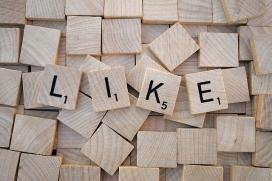 """""""Like"""" (m'agrada) a les xarxes socials. Font: Pixabay"""