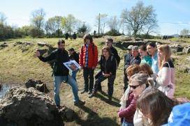 Limnos va organitza una visita guiada per interpretar l'espai natural i observar trips i amfibis (imatge: limnos.org)