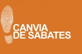 Logotip de la campanya 'Canvia de sabates'. Font: Campanya 'Canvia de sabates'