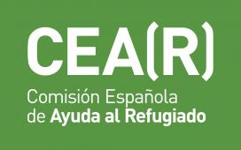 El logotip de la Comissió Espanyola d'Ajuda al Refugiat. Font: CEAR
