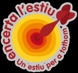 Logotip de la campanya Encerta l'estiu de Fundesplai