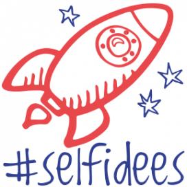 Logo de la campanya #selfidees