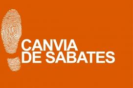 """El logotip de la campanya """"Canvia de Sabates"""". Font: Campanya Roba Neta"""