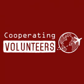 Logo de Cooperating Volunteers. Font: CV
