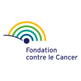 Logo de la Fundació Contra el Càncer de Bèlgica. Font: FCC