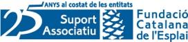Logo del 25 aniversari de Suport Associatiu