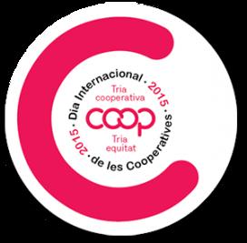 Logotip del 21è Dia Internacional del Cooperativisme