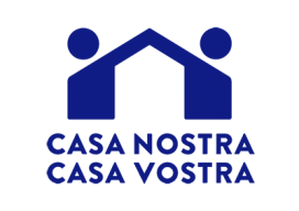 Casa Nostra, Casa Vostra va sorgir d'un grup de voluntàries i voluntaris independents que van coincidir als camps de refugiats de Grècia (Font: casanostracasavostra.cat)