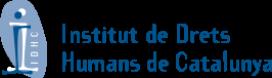 Logo de l'Institut de Drets Humans de Catalunya.