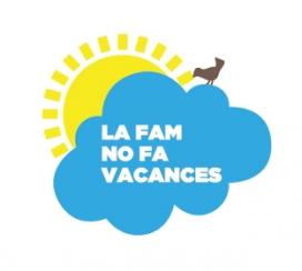 Logotip de 'La fam no fa vacances'.