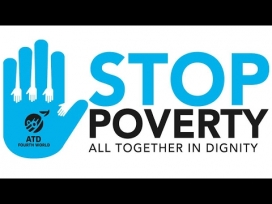 Logo d'Stop Poverty.