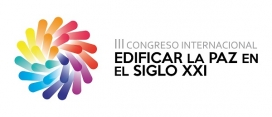Logo del III Congrés Internacional Edificar la Pau al Segle XXI.