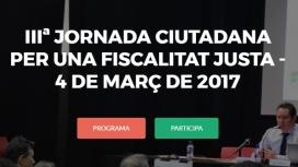La Plataforma organitza cada any jornades que aprofundeixen en les conseqüències del frau fiscal. Font: Plataforma per una Fiscalitat Justa