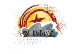 Imatge gràfica del grup musical El Diluvi