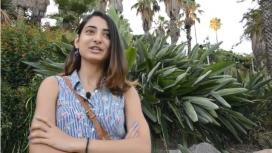Una de les  persones que ofereixen el seu testimoni al vídeo del projecte