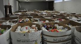 Magatzem de la Fundació Banc d'Aliments (Font: Flickr.com)